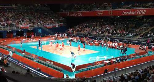 Българският волейболен отбор на игрите в Лондон