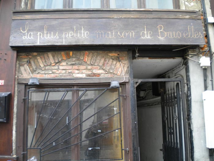 Най-малката къща в Брюксел