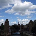 Covered bridges in Strasbourg