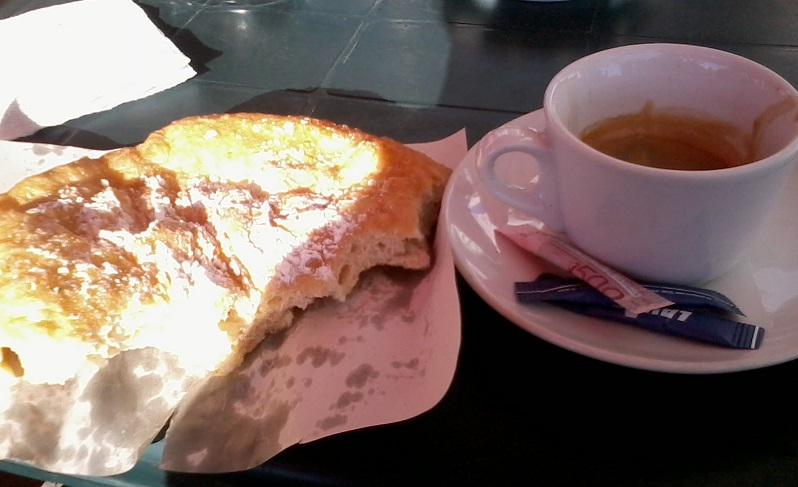 Мекица с пудра захар във Върбица