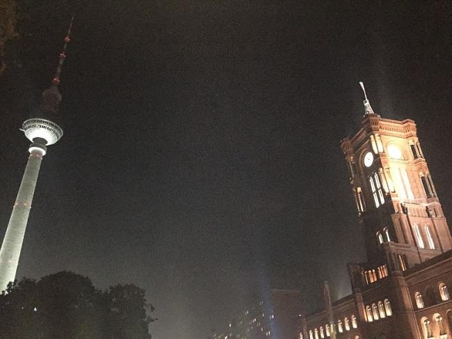 Телевизионната кула в Берлин