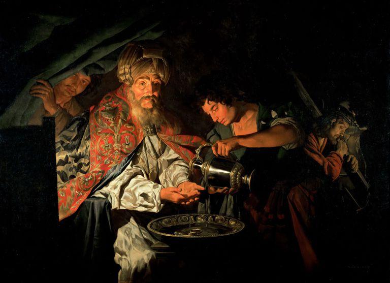 Пилат Понтийски си измива ръцете